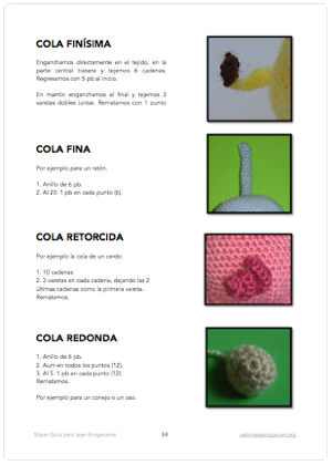 Super Guía para tejer Amigurumis