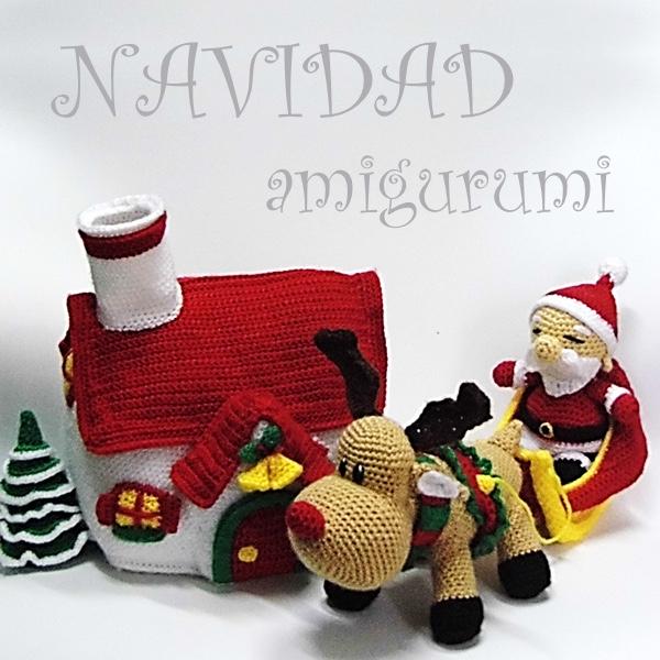 Kit Amigurumi Navidad : Patrones Amigurumi