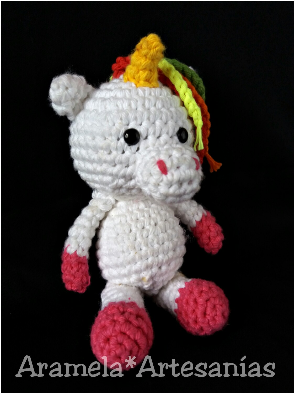 Tiny rainbow unicorn – crochet amigurumi – free pattern ... | 1500x1125