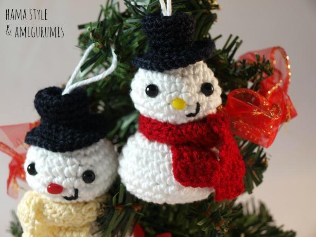 Amigurumi de NAVIDAD del reno Rudolph a crochet...patrón gratis ... | 488x650