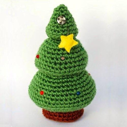 50 patrones amigurumi navideños - Patrones gratis | 500x500