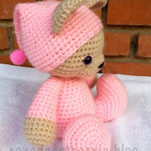 Amigurumi Oveja : Duraznita: Amigurumi oso, teddy pattern