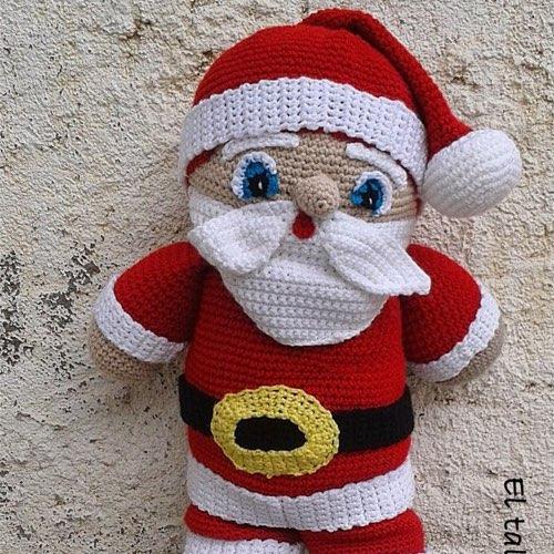 Imagenes Gratis De Papa Noel.Patron Amigurumi Papa Noel Xxl