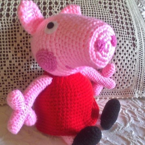 Patron Amigurumi Peppa Pig Grande : Patrones Amigurumi