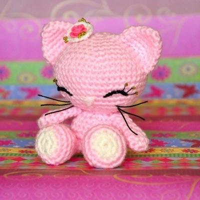 Amigurumi Gatita Kitty : Patrones Amigurumi