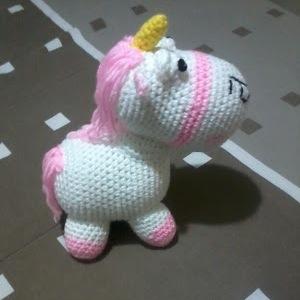 Patrón amigurumi unicornio | CrochetyAmigurumis.com | 300x300