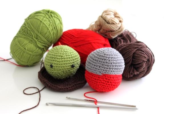 Qué lana y aguja debo usar para tejer amigurumis? | Patrones Amigurumi