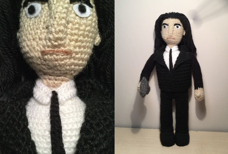 pulp fiction amigurumi