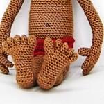 Cómo tejer pies humanos