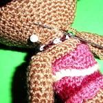 Cómo coser las partes del amigurumi