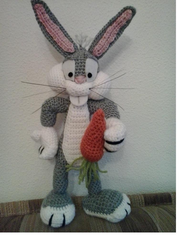 Amigurumi Bugs Bunny Yapilisi : Patrones Amigurumi