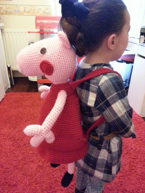 Peppa Pig - free crochet pattern   Crochet pig, Crochet patterns ...   816x612