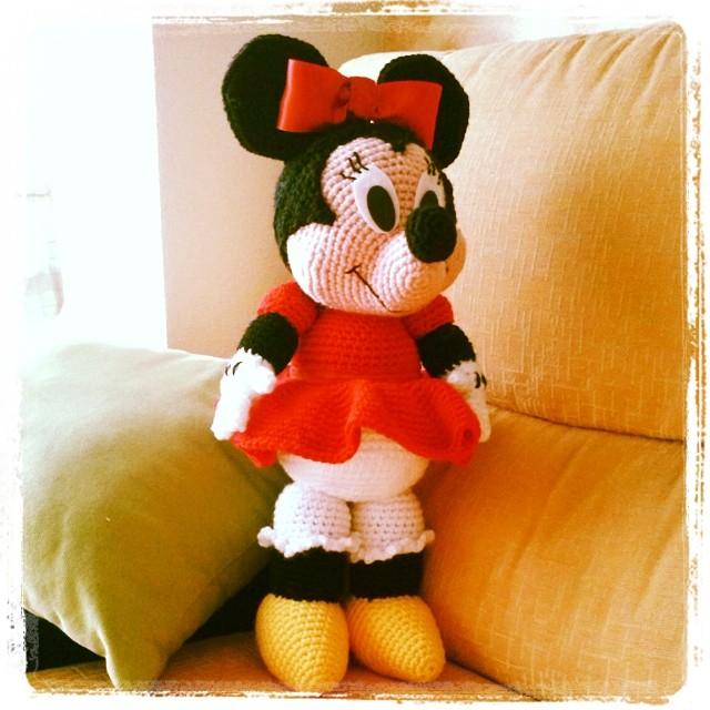 Amigurumi Minnie Mouse patron - Imagui