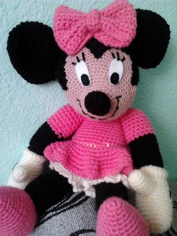 Moderno Minnie Libre Patrón De Crochet Sombrero De Ratón Ideas ...