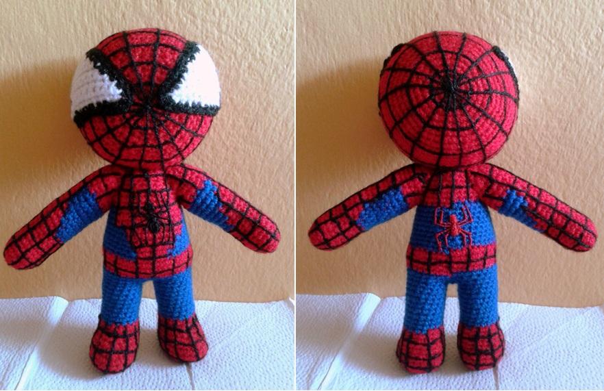 Amigurumi Spiderman Patron : Patrones Amigurumi