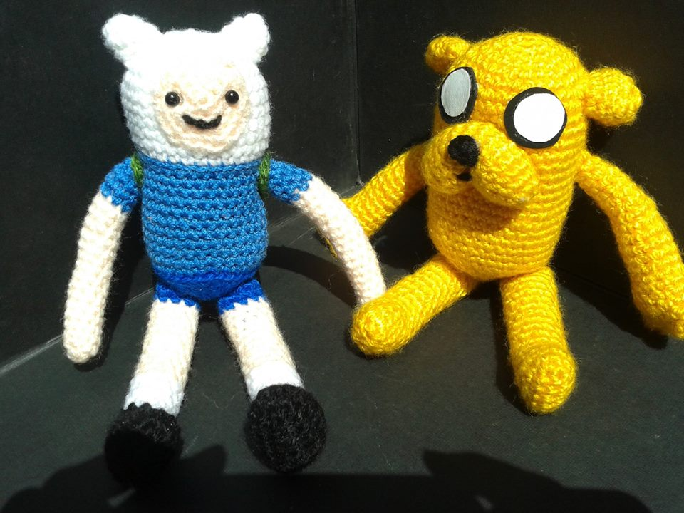 PDFs of Finn and Jake Amigurumi Patterns by lucyravenscar #etsy ... | 720x960