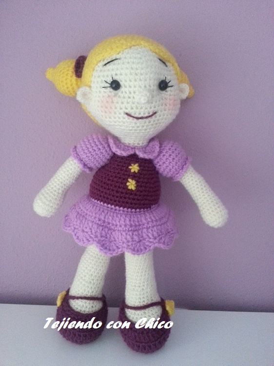 Free Crochet Pattern Heart Shaped Baby Doll : Patrones Amigurumi