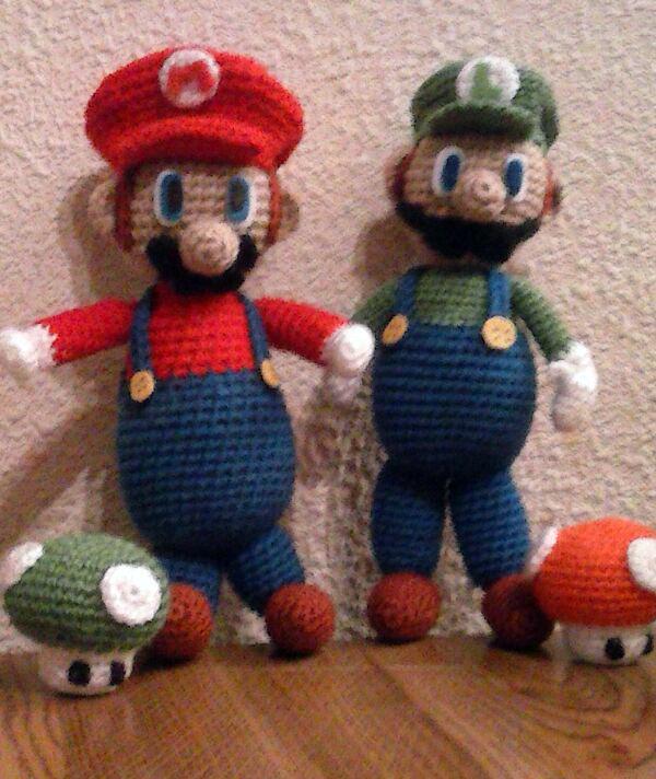 Amigurumi Mario Y Luigi : Patrones Amigurumi
