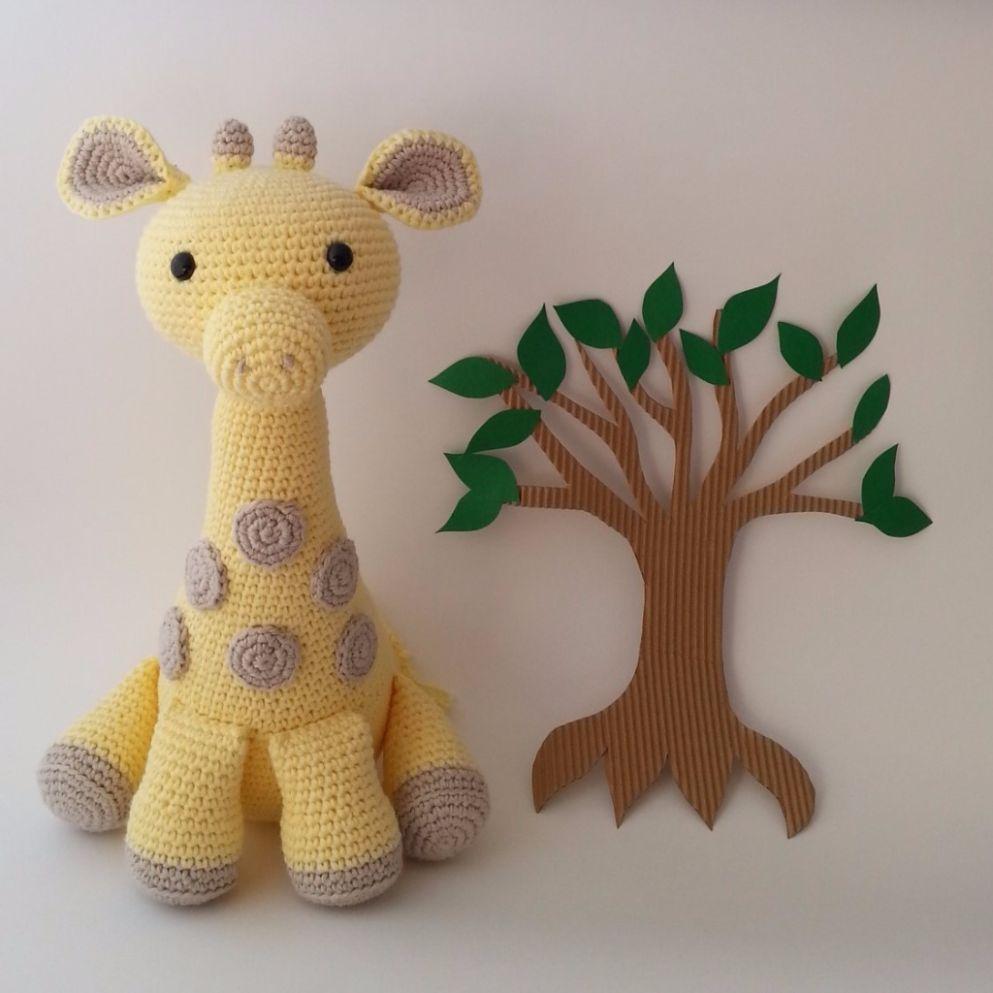 Amigurumi Pattern: Alfa Giraffe - Tarturumies   993x993