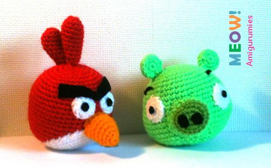 Patron Angry Birds Amigurumi : Patrones Amigurumi
