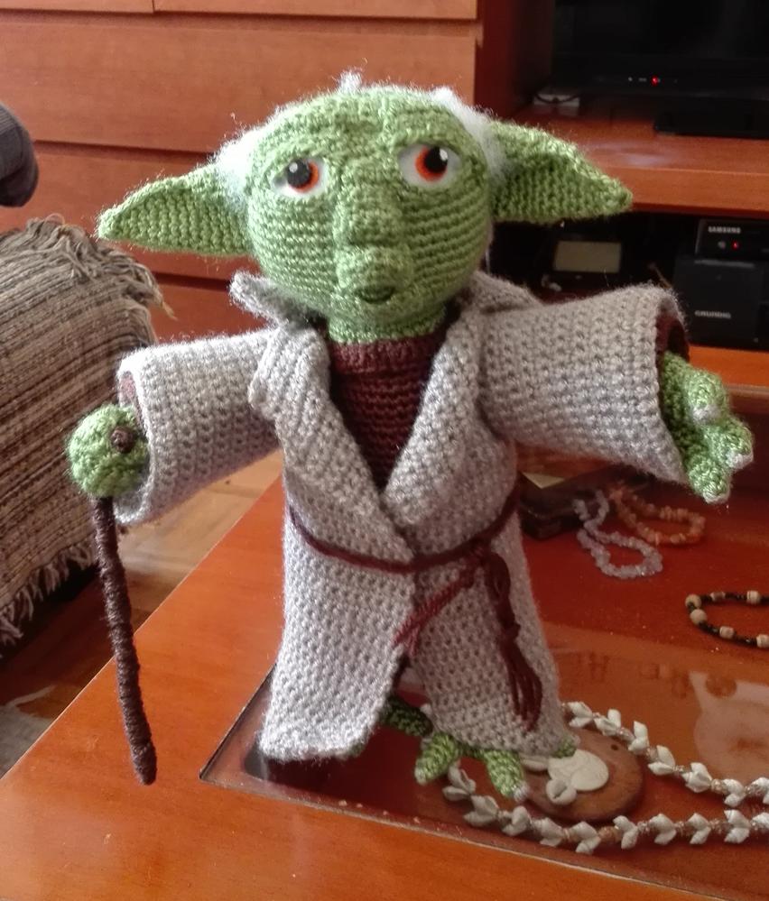 Amigurumi Maestro Yoda : Patrones Amigurumi