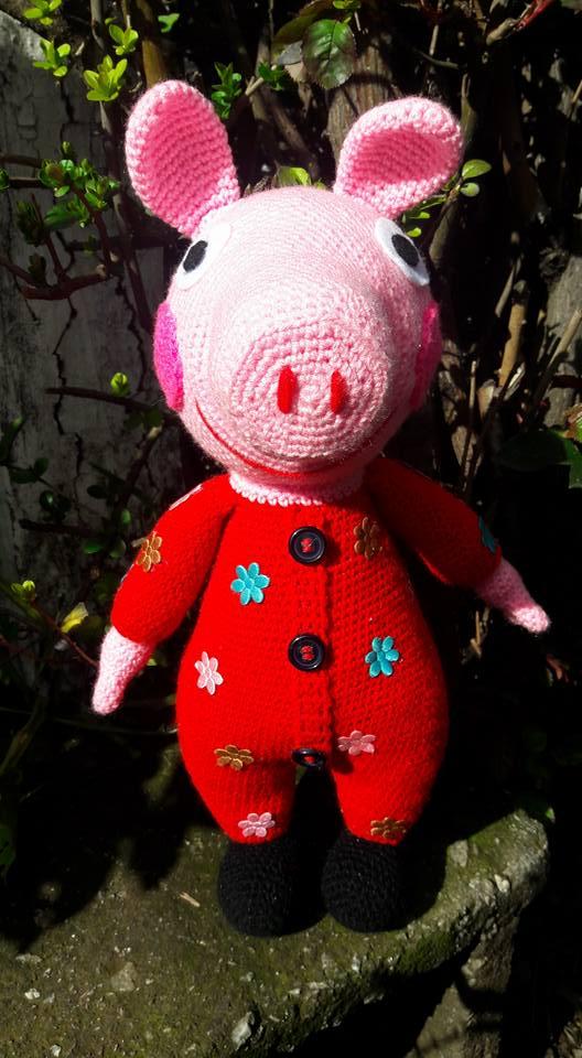 George Pig (Free Amigurumi Patterns)   Amigurumi pattern, George ...   960x528