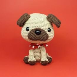 Mini Amigurumi Pug Free Crochet Pattern   móhu   260x260