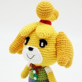 Amigurumi de Canela Animal Crossing