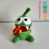 OM NOM (CUT THE ROPE) AMIGURUMI