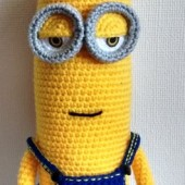 THE MINIONS (KEVIN) DESPICABLE ME AMIGURUMI