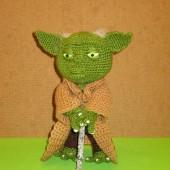 Amigurumi Yoda Patron : Patrones Amigurumi