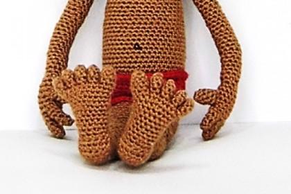 Tutorial para aprender a tejer pies humanos